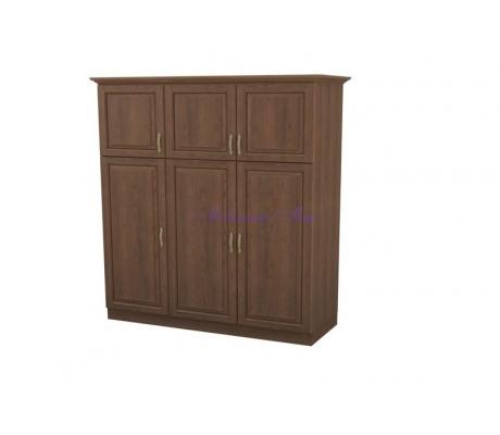 Деревянный шкаф 3 створчатый Эдем дверцы вверху