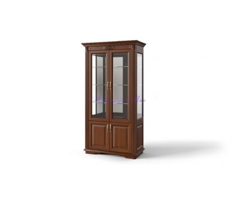 Деревянная витрина 2 створчатая Палермо