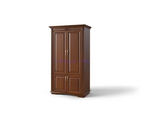 Деревянный шкаф 2 створчатый Палермо дверцы внизу