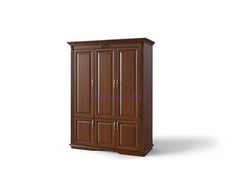 Деревянный шкаф 3 створчатый Палермо дверцы внизу
