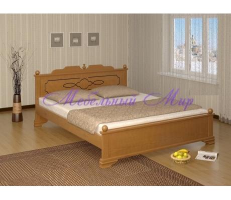 Кровать из массива сосны Афродита тахта