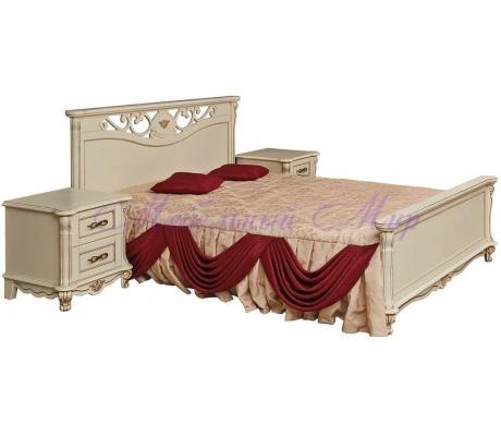 Деревянная кровать Алези 1