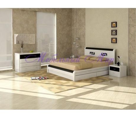Купить двуспальную кровать Арикама 2