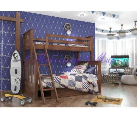 Купить двухъярусную кровать Пират