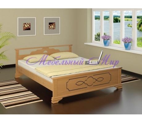 Кровать из массива сосны Ирида