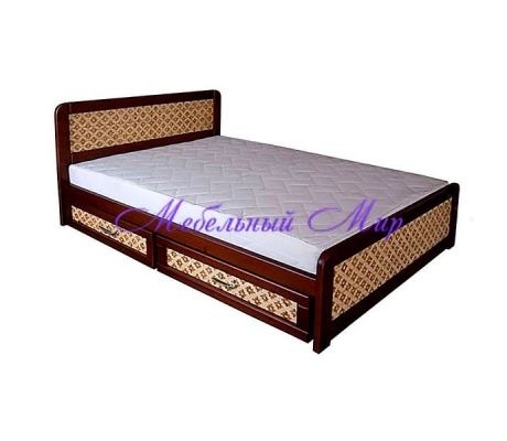 Купить полутороспальную кровать Классика ткань