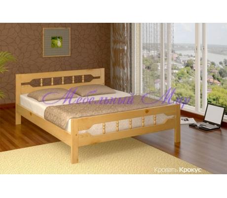 Купить полутороспальную кровать Крокус