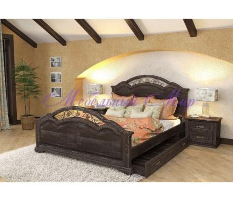 Купить двуспальную кровать Лаура