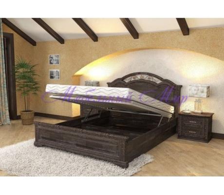 Кровать с ящиками для хранения Лаура