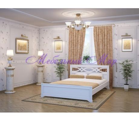 Купить полутороспальную кровать Лира