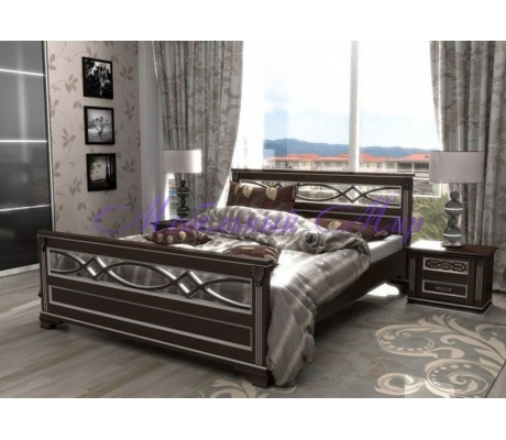 Кровать с ящиками для хранения Лирона