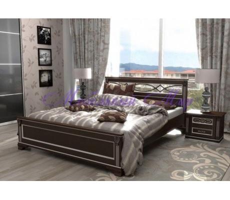Кровать с ящиками для хранения Лирона 2