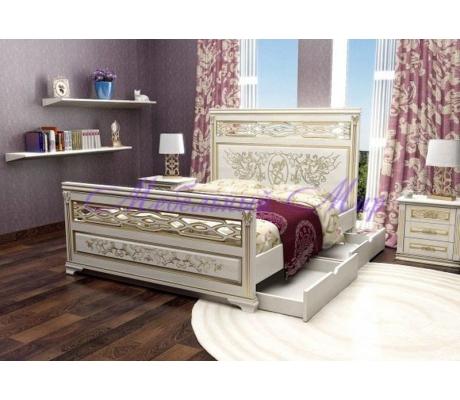 Купить полутороспальную кровать Лирона 3