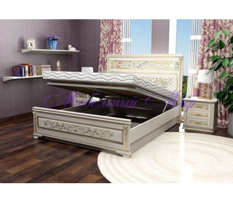 Кровать с ящиками для хранения Лирона 4