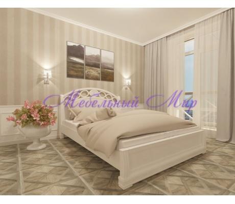 Кровать из массива сосны Лорена