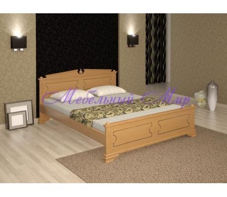 Кровать из массива сосны Нефертити