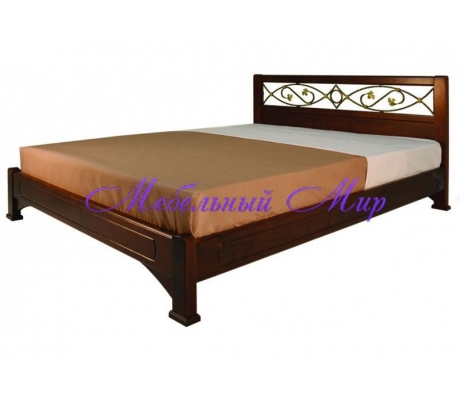 Купить двуспальную кровать Омега с ковкой 3