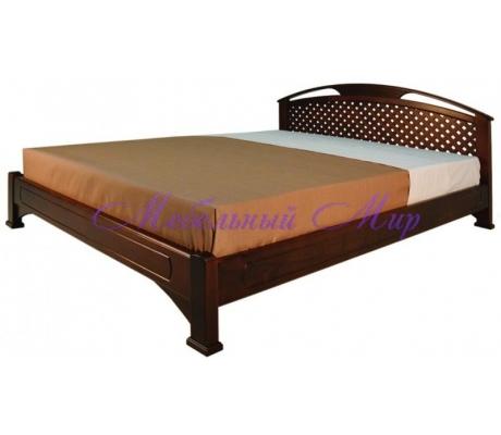 Кровать из массива сосны Омега сетка тахта