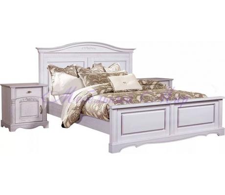Деревянная кровать Паола