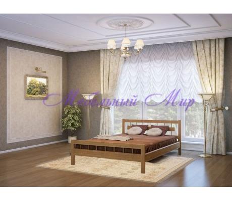 Кровать из массива сосны Сакура