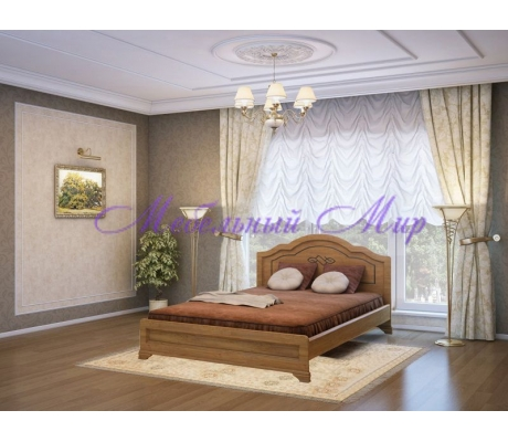 Кровать из массива сосны Сатори тахта