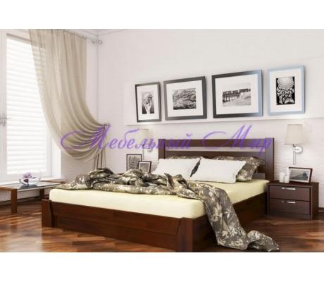 Кровать с ящиками для хранения Селена прямая