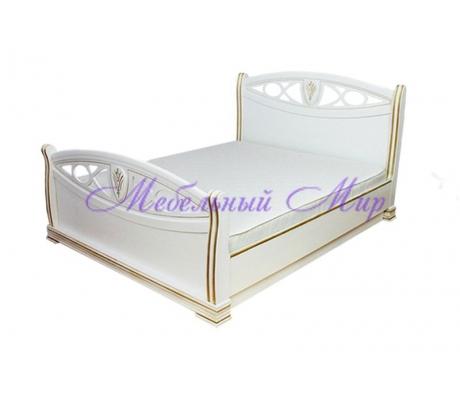 Кровать из массива сосны Сиена