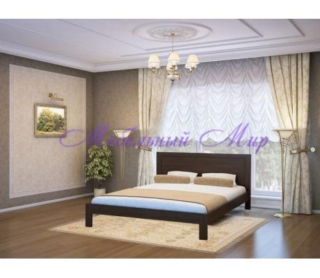 Кровать из массива сосны София тахта