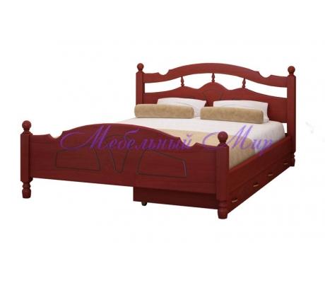 Кровать из массива сосны Солнце