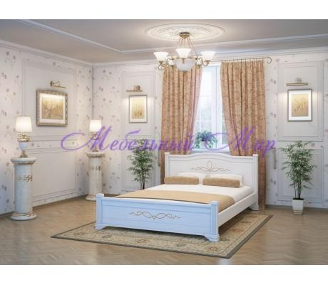 Кровать из массива сосны Соната