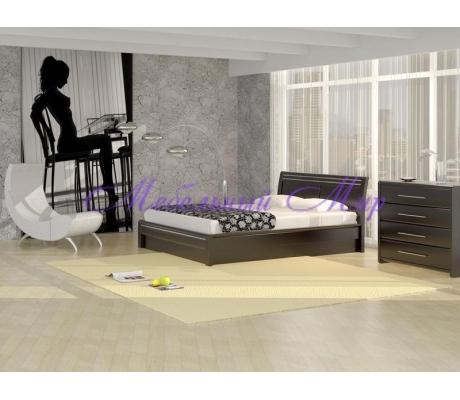 Кровать из массива сосны Стиль 2А