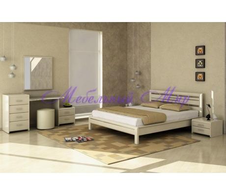 Недорогая односпальная кровать Стиль 4А