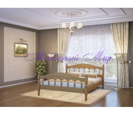 Недорогая односпальная кровать Точенка