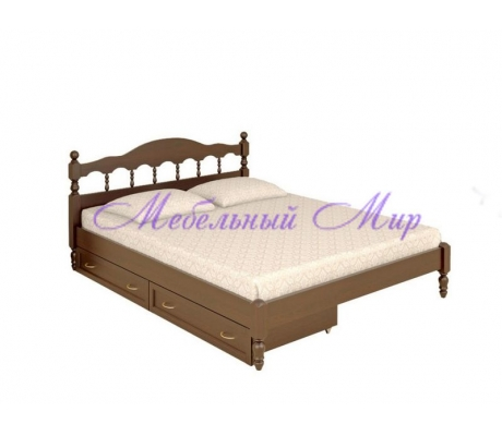 Кровать из массива сосны Точенка тахта