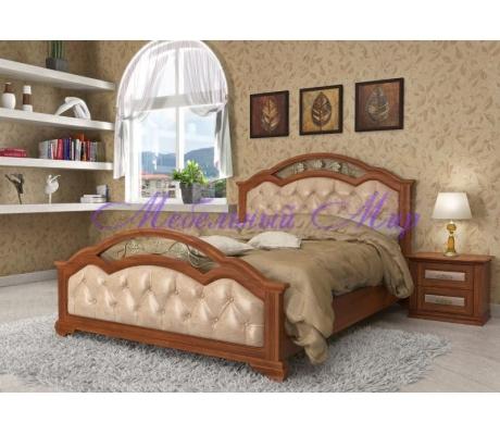Кровать с элементами ковки Венеция