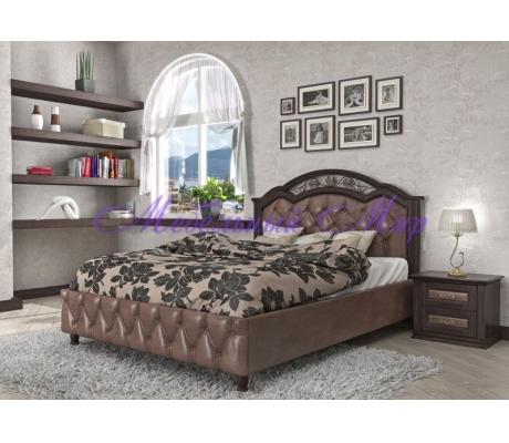 Кровать из массива сосны Венеция тахта 2