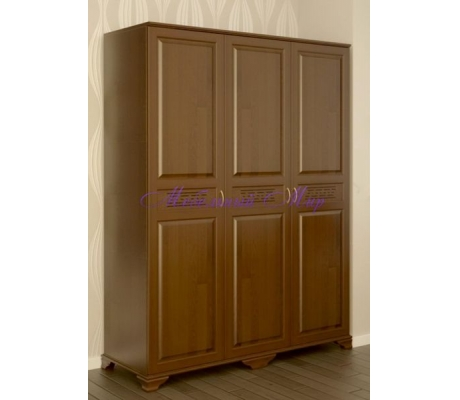 Купить распашной шкаф 3 створчатый Классика