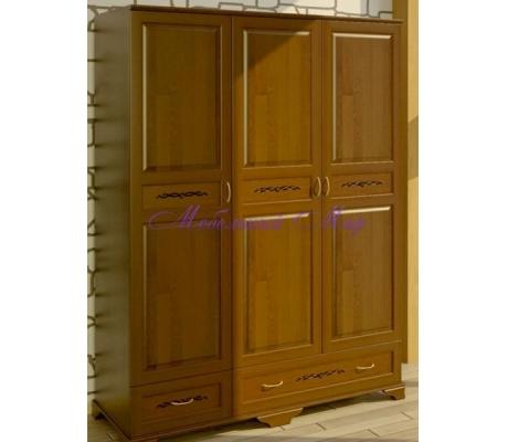 Купить распашной шкаф 3 створчатый Соната