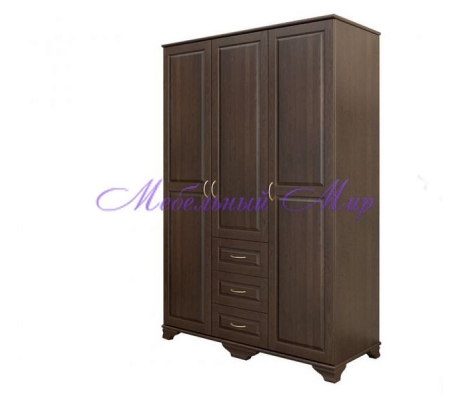 Купить распашной шкаф 3 створчатый Витязь 101