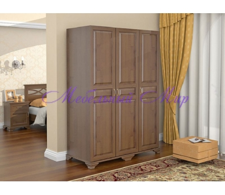 Купить распашной шкаф 3 створчатый Витязь 105