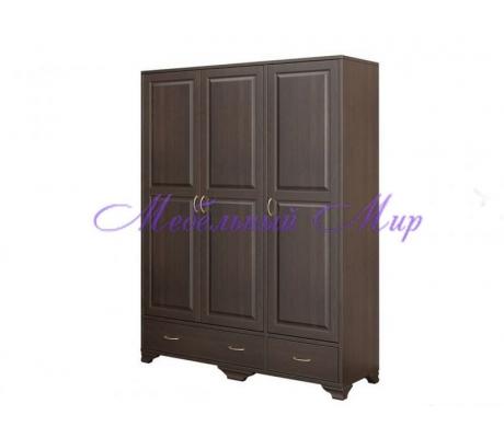 Купить распашной шкаф 3 створчатый Витязь 121