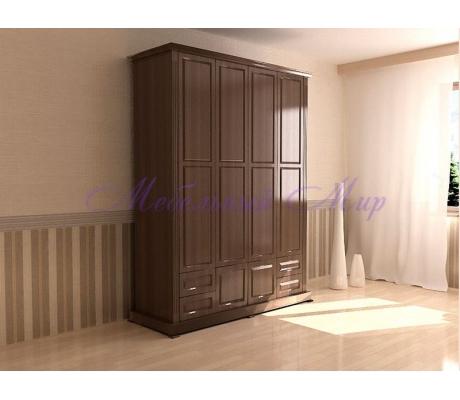 Купить распашной шкаф 4 створчатый Фиджи 2