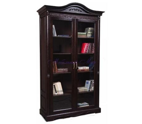 Деревянный книжный шкаф Паола 2