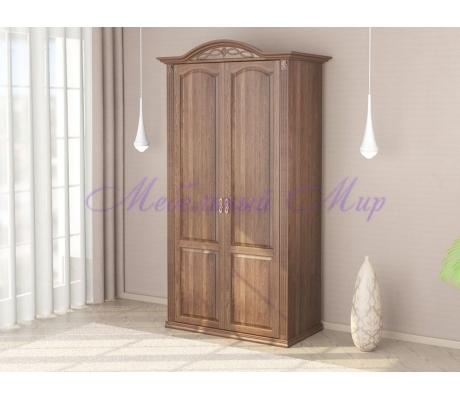 Купить распашной шкаф 2 створчатый Венеция