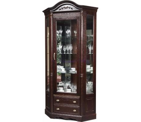 Деревянный угловой шкаф Паола