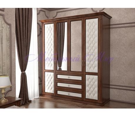 Купить распашной шкаф 4 створчатый Соната