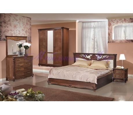 Деревянный спальный гарнитур Алези 3
