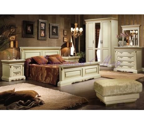 Деревянный спальный гарнитур Милано 2
