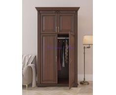 Деревянный шкаф 2 створчатый Палермо дверцы сверху