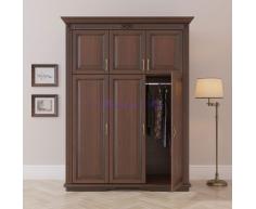 Деревянный шкаф 3 створчатый Палермо дверцы сверху